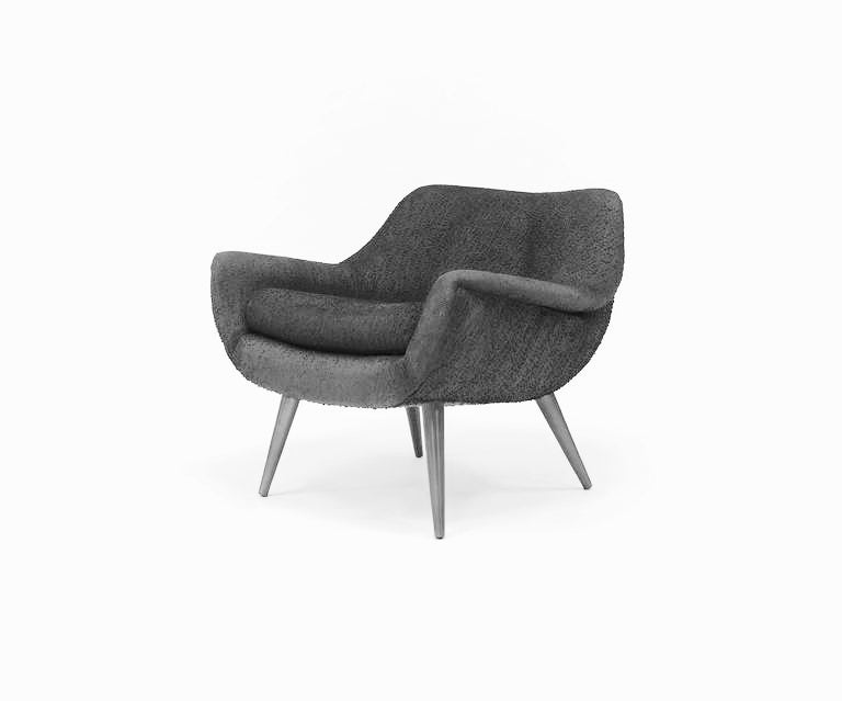 Lawrence Peabody Holiday Small Occasional Chair for Selig