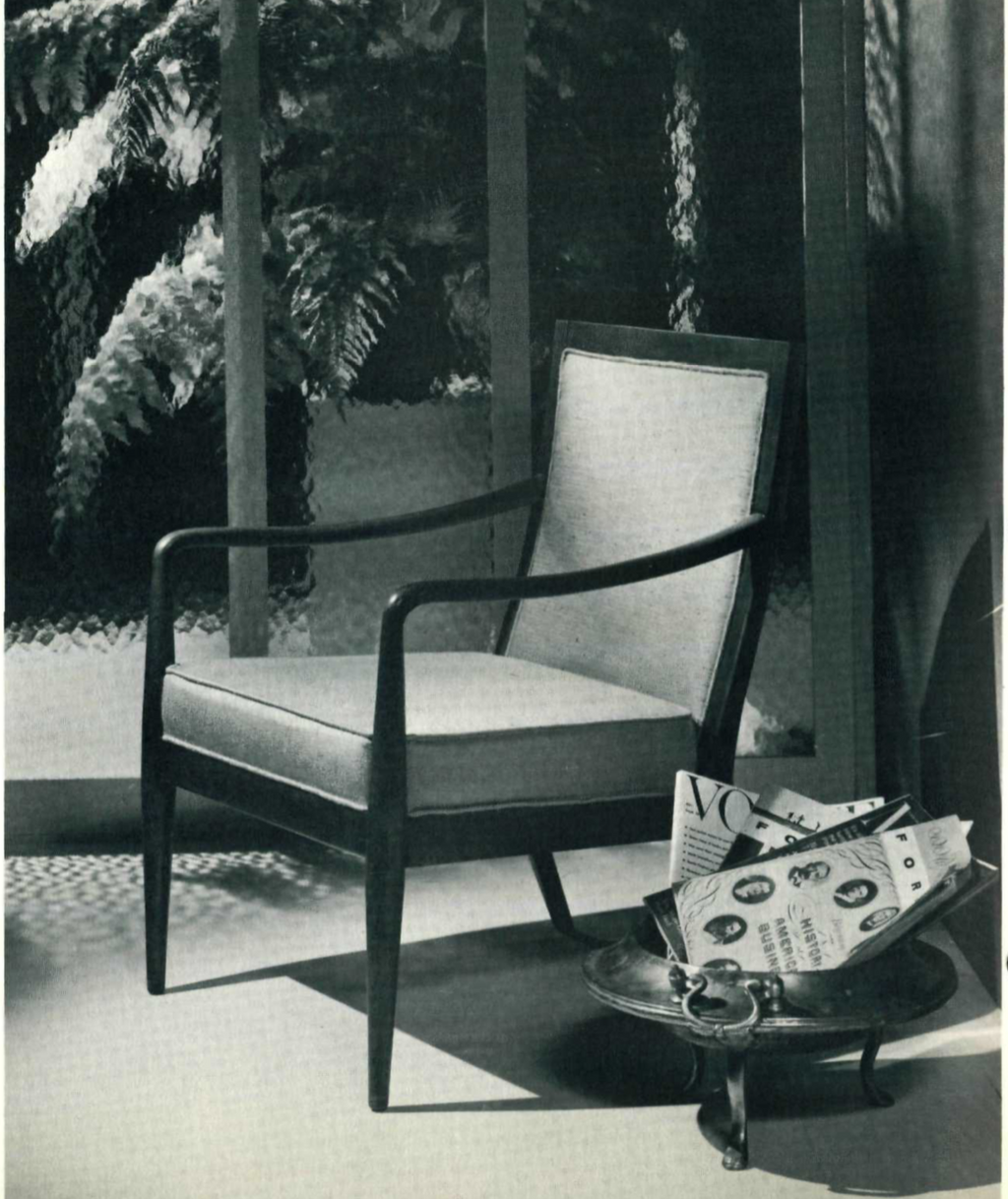 Lawrence Peabody Lounge Chair Model 904 for Nemschoff : Peabody Collection