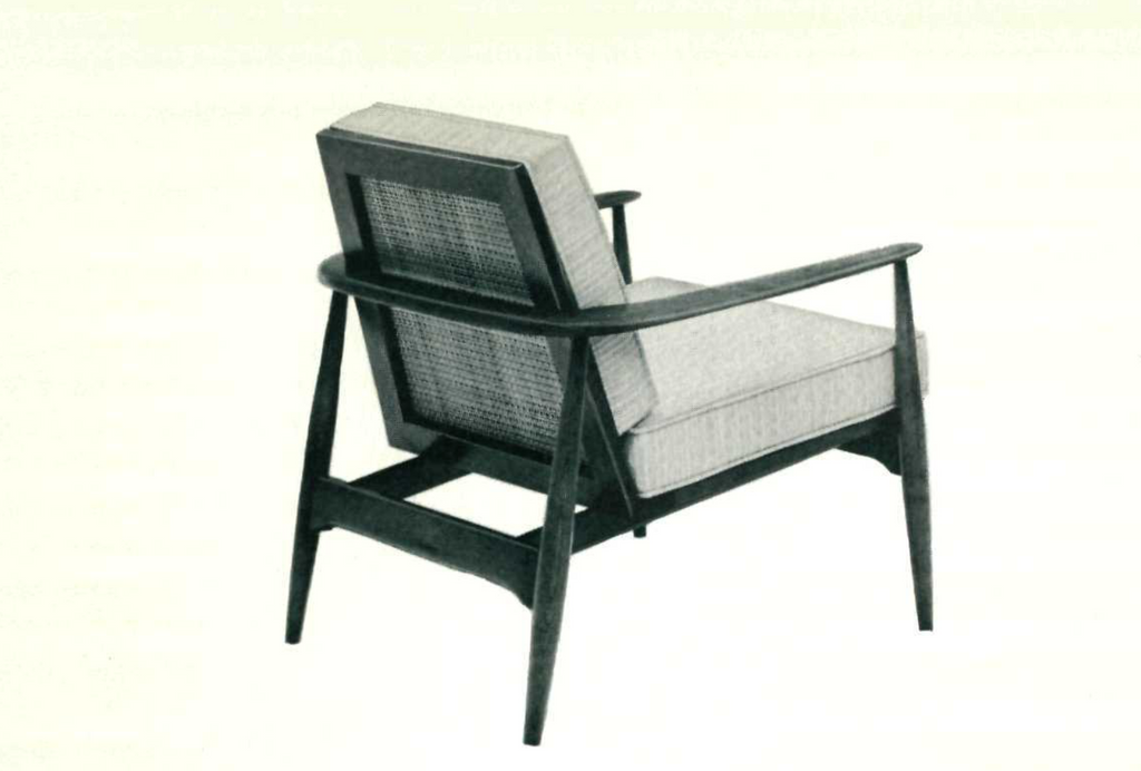 Lawrence Peabody Lounge Chair Model 913 For Nemschoff: Peabody Collection