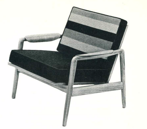 Lawrence Peabody Lounge Chair Model 914 For Nemschoff: The Peabody Collection