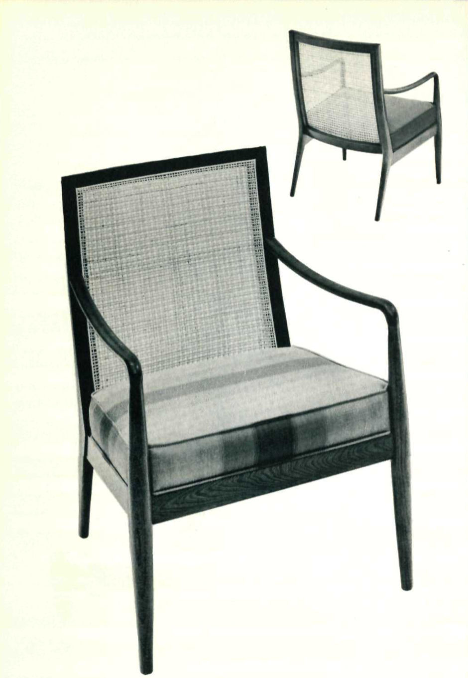 Lawrence Peabody Lounge Chair Model 918 for Nemschoff : Peabody Collection