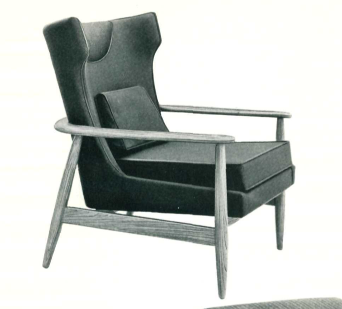 Lawrence Peabody Lounge Chair Model 927 for Nemschoff : Peabody Collection