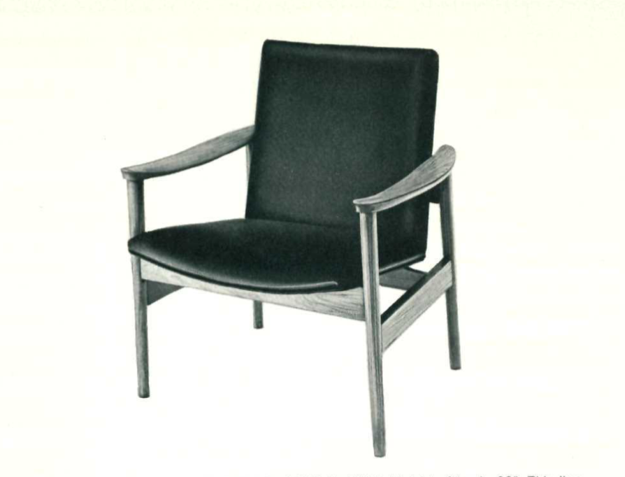 Lawrence Peabody Lounge Chair Model 962 for Nemschoff : Peabody Collection