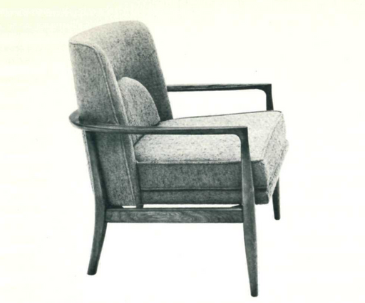 Lawrence Peabody Lounge Chair Model 982 For Nemschoff: Peabody Collection
