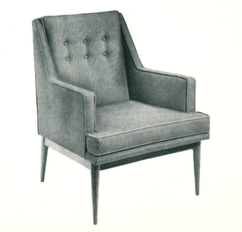 Lawrence Peabody Lounge Chair Model 903 for Nemschoff : Peabody Collection