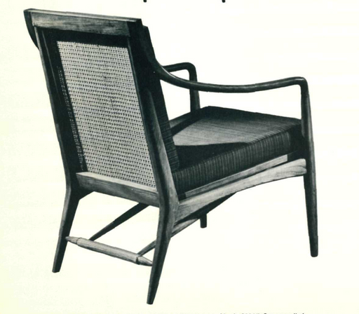 Lawrence Peabody High Back Lounge Chair Model 930 for Nemschoff : Peabody Collection