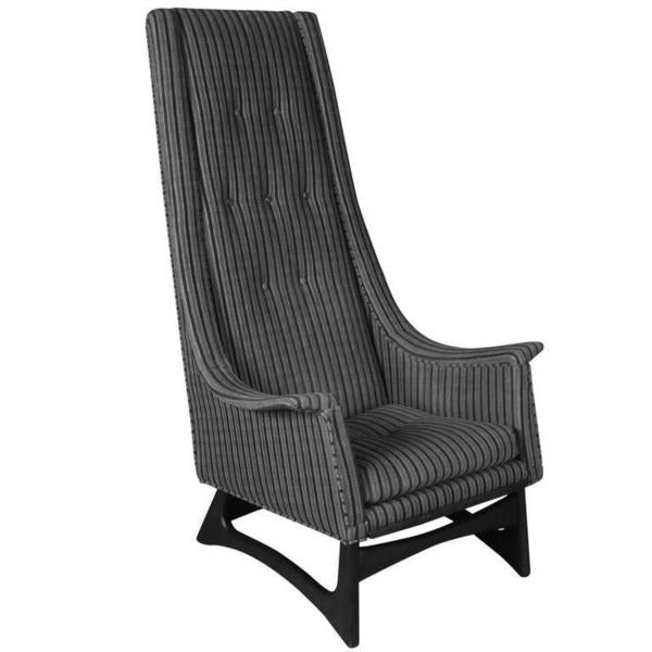 Adrian Pearsall High Back Chair 2486-C for Craft Associates Inc.