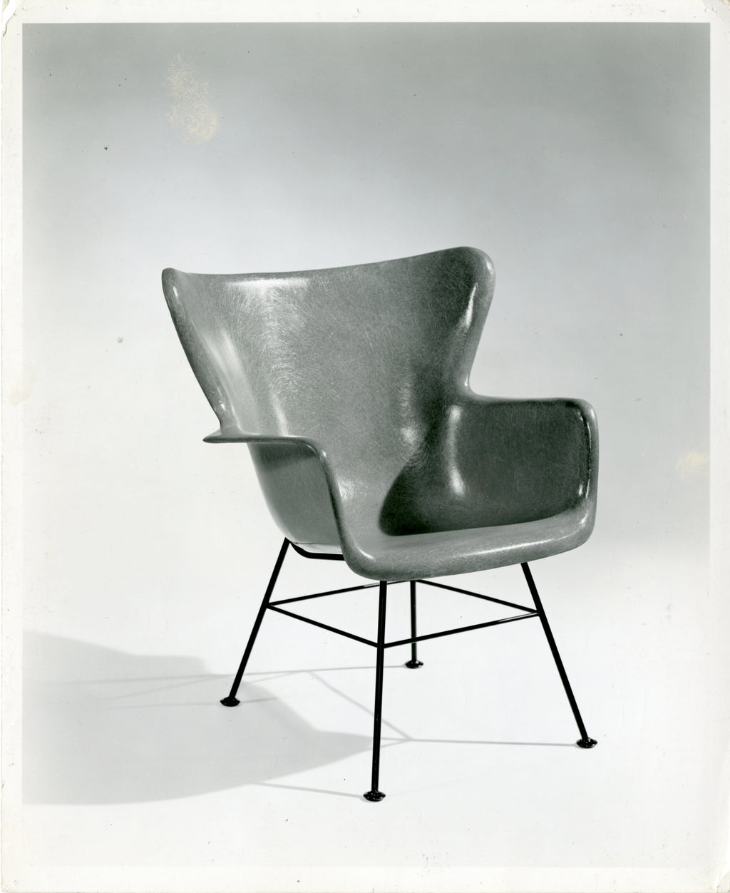 Lawrence Peabody Fiberglass Chair for Selig