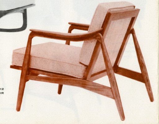 Lawrence Peabody Lounge Chair Model 912 for Nemschoff: The Peabody Collection