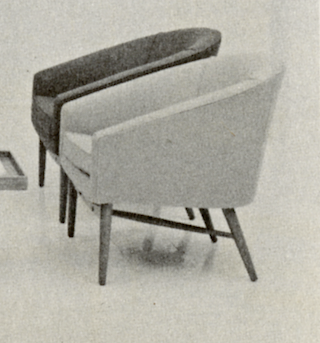 Lawrence Peabody Lounge Chair Model 934 for Nemschoff: The Peabody Collection