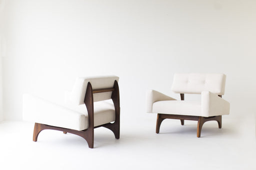 Modern Armchairs In Teak - The Canadian - 1519