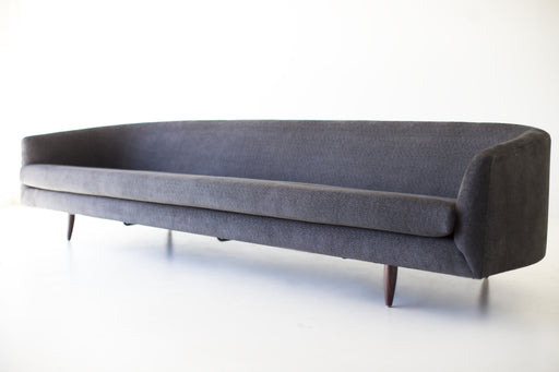 Modern Sofa - 1408 in a Grey Polyester
