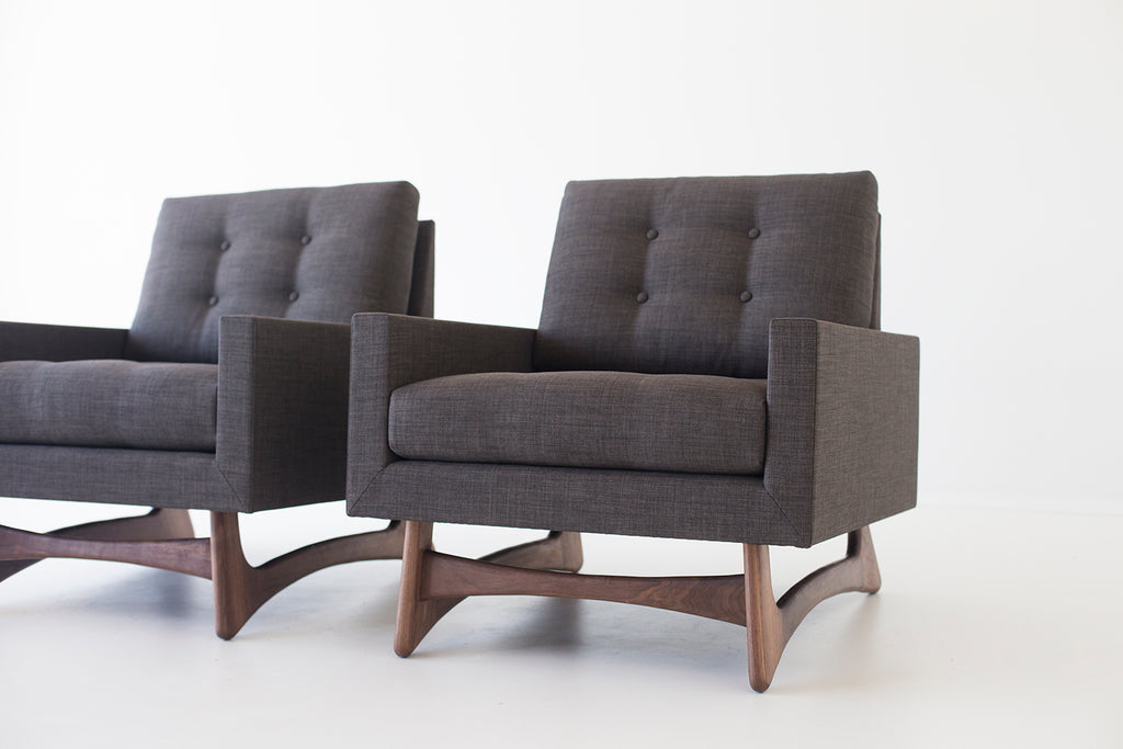 Craft Associates® Modern Lounge Chairs - 1405 - The Club in ...