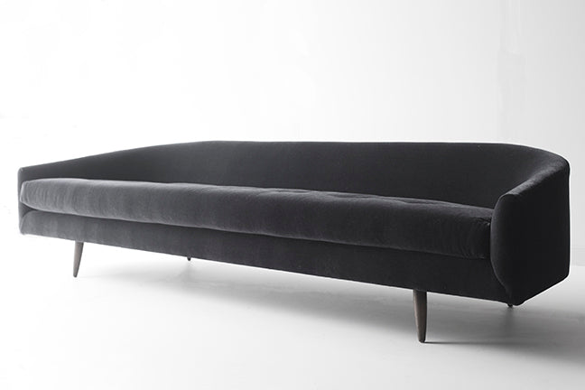 Our Modern Sofa - 1408 - The Cloud in Black Mohair 01