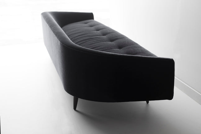 Our Modern Sofa - 1408 - The Cloud in Black Mohair 03