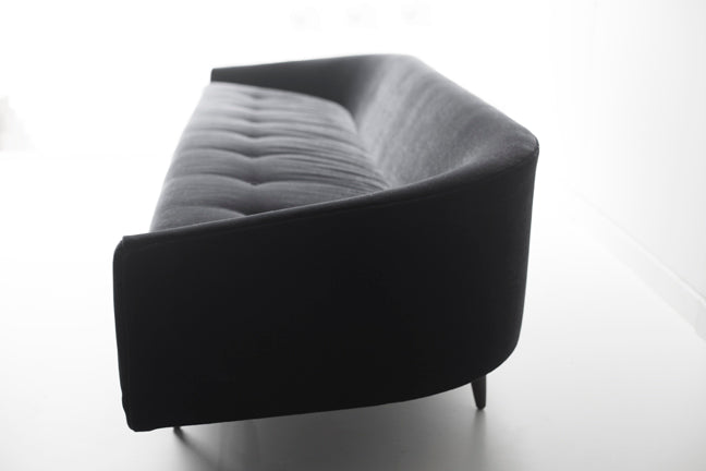 Our Modern Sofa - 1408 - The Cloud in Black Mohair 04