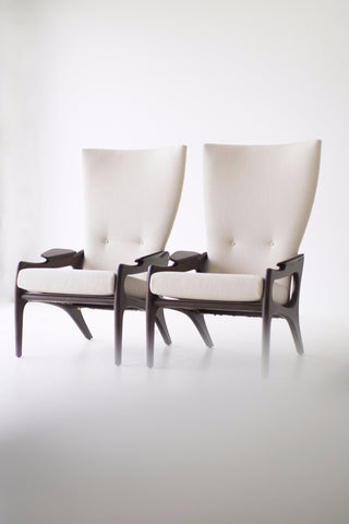 Craft Associates HighBack Chairs   1604   The Hillsdale