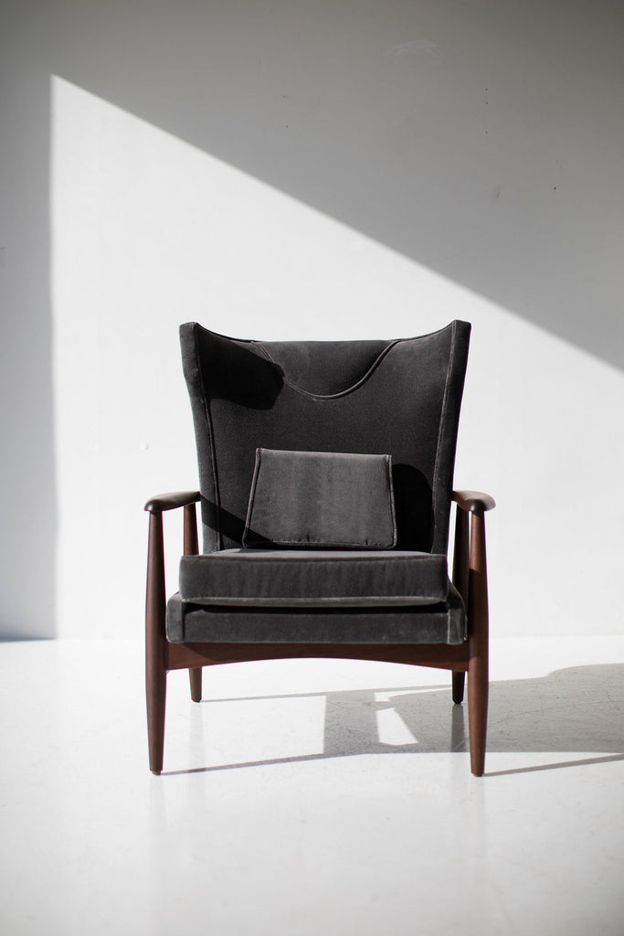 Lawrence Peabody Wing Chair for Craft Associates - 2012P