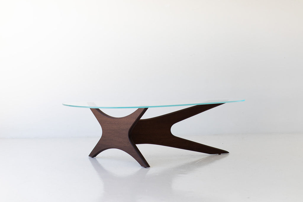 Modern Glass Top Coffee Table - 2010 - Craft Associates Furniture
