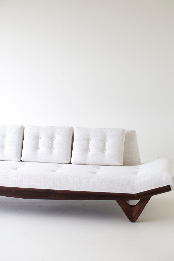 Modern Sofa - 1403 | White Thick Weave