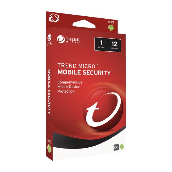 Trend Micro Mobile Security 1 Device - 12 months
