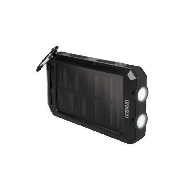 Uniden 8000mAh Portable Solar Power Bank