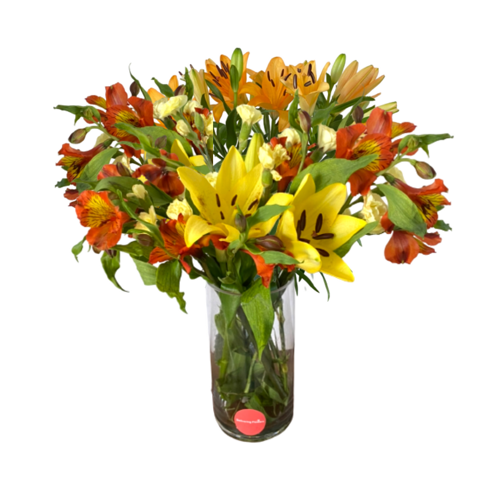 Large Orange Florist's Design