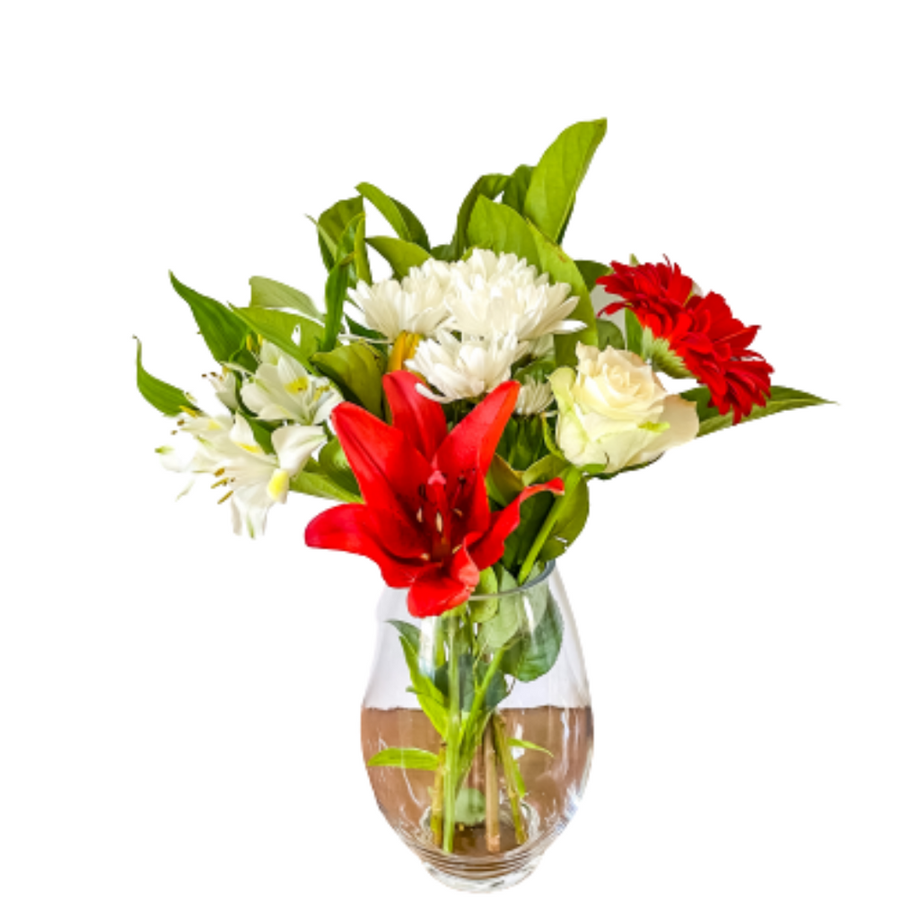 Small Red & White Florist Design