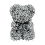 Grey Rose Teddy