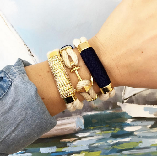 WAVERLY NAUTICAL BRACELET ALLISON COLE