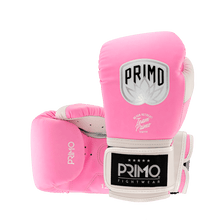 Load image into Gallery viewer, Defender X Series Pink Stripe Boxing Gloves