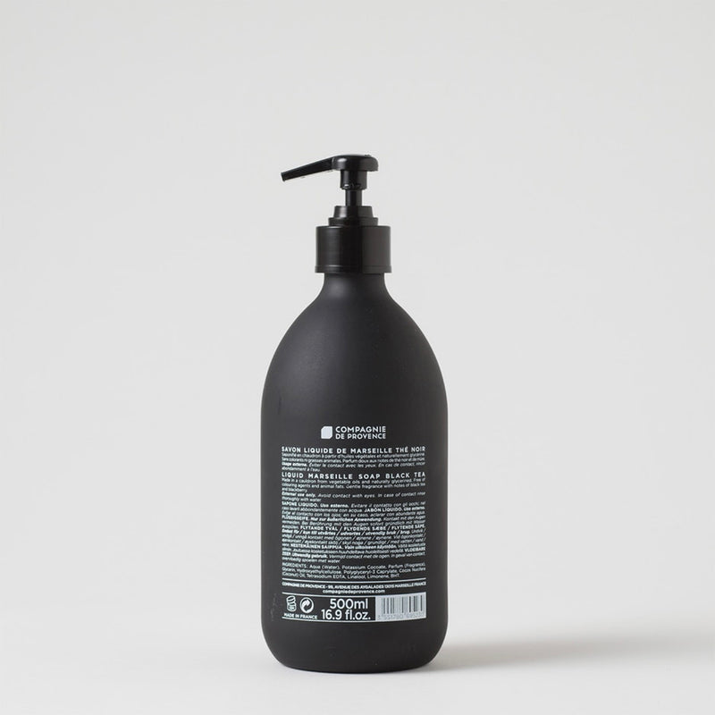 Black & White Liquid Marseille Soap | Black Tea