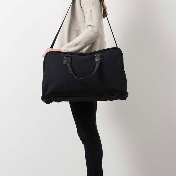 Canvas Travel Bag | Black
