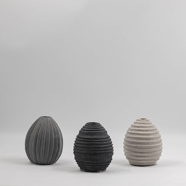 Cassini Textured Pot | Stone
