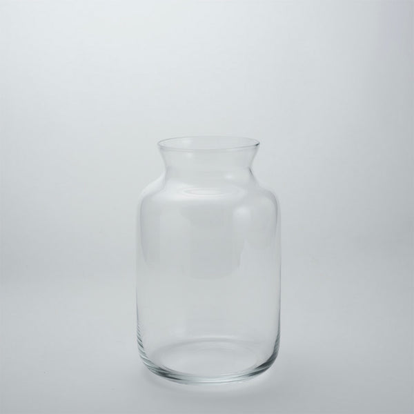 Collared Glass Vase | M