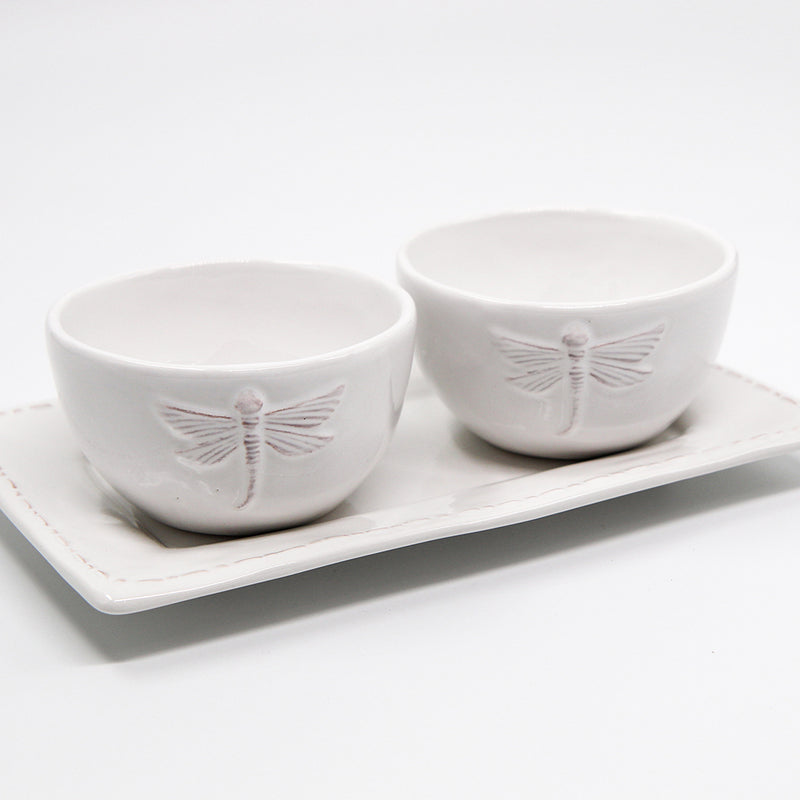 Dragonfly Condiment Set