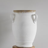Tuscan Large 3 Handle Pot | White