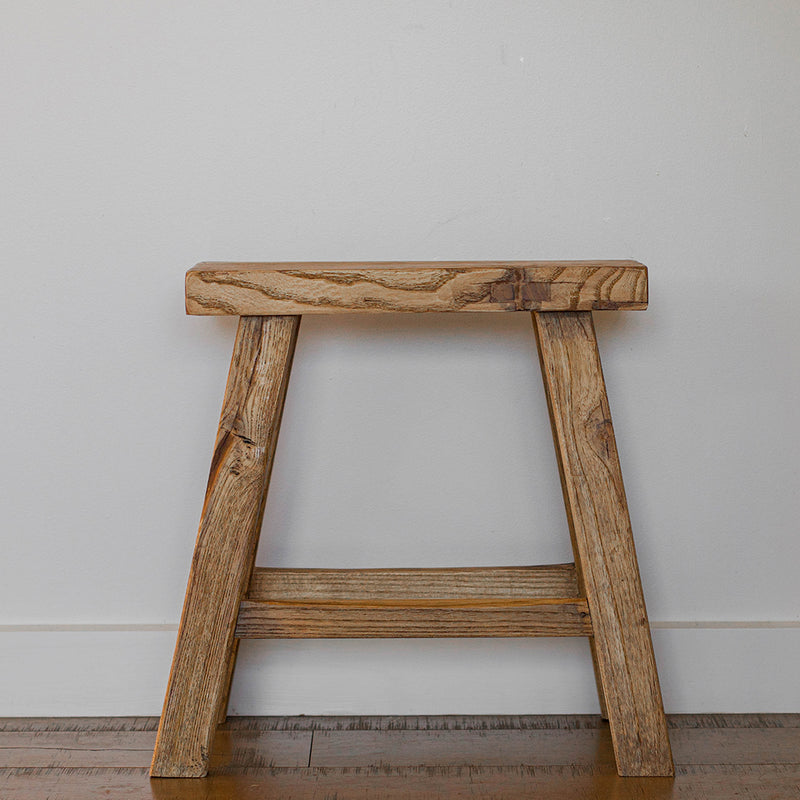 Parq Wooden Stool - Rectangle