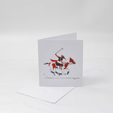 Polo Fox | Greeting Card