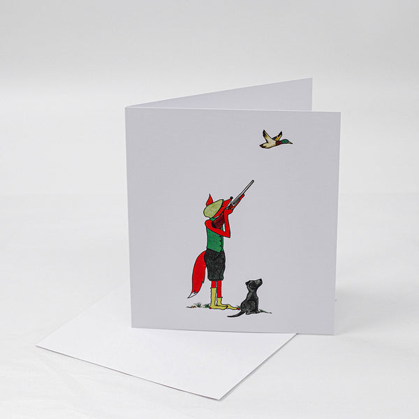 Shooting Fox | Greeting Card