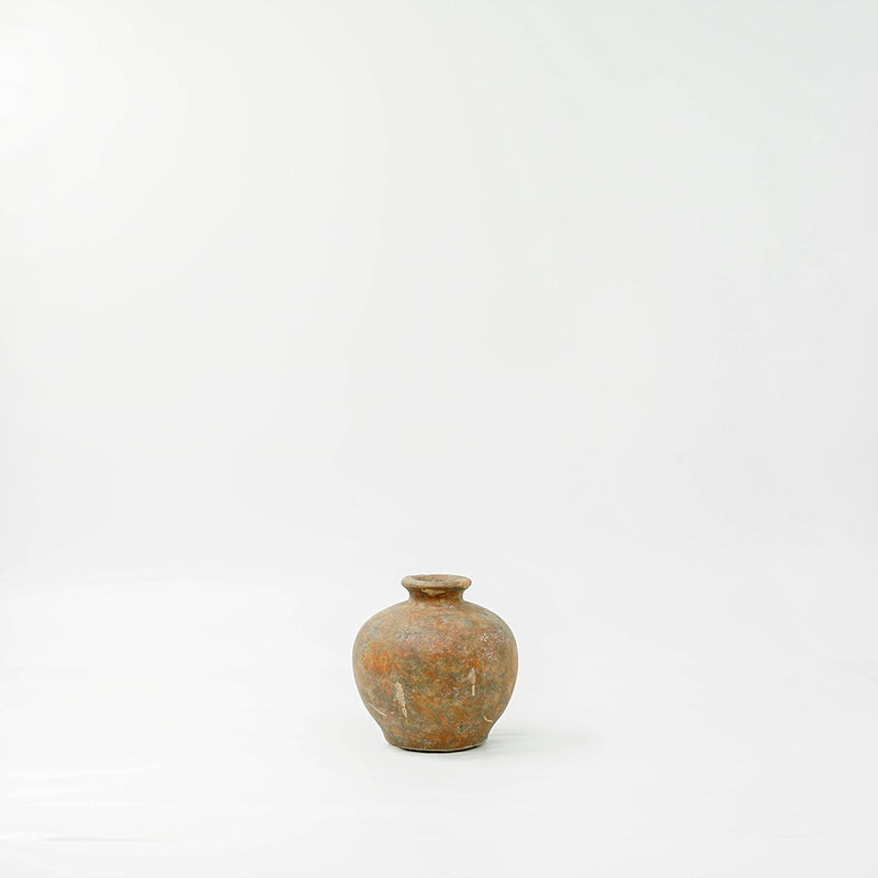 Terracotta Rustic Mini Vase