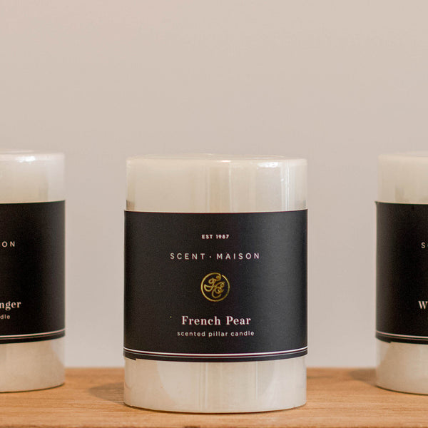 Pillar Candle | French Pear