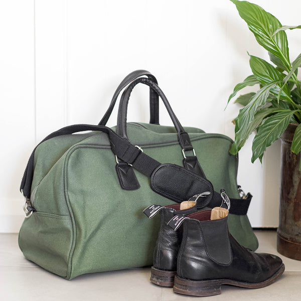Canvas Travel Bag | Olive