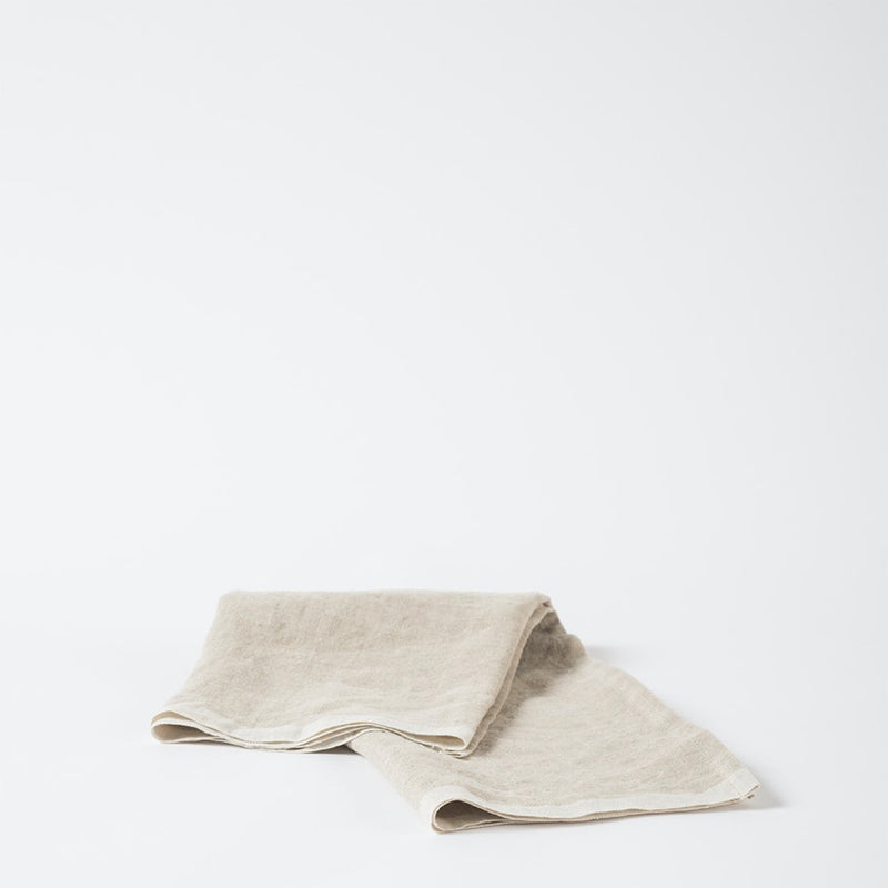 Linen Tea Towel w/ Selvedge Edge