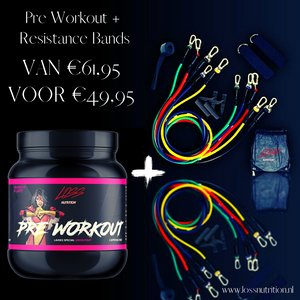 PRE WORKOUT + 11 DELIGE HOME TRAINER