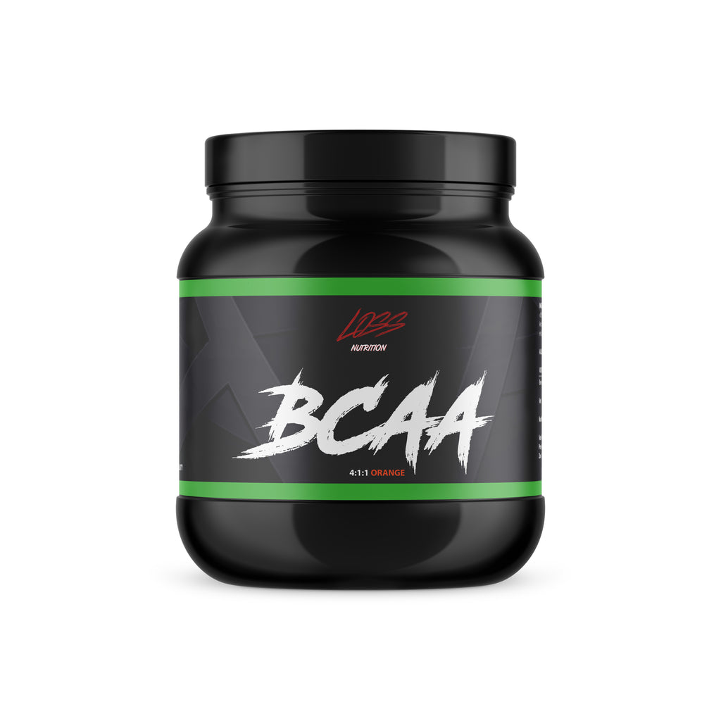 BCAA  4:1:1 Orange - lossnutrition