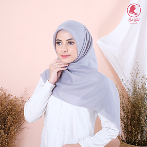 Hijab Light Grey Syakira