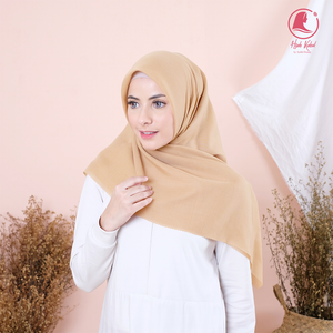 Join Affiliate + 1 Pcs Hijab Light Brown Syakira
