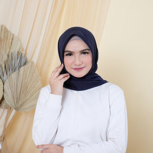 Join Affiliate + 1 Pcs Hijab Navy Blue Syakira
