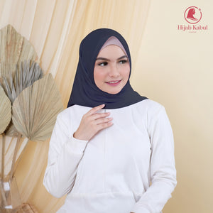 Join Affiliate + 1 Pcs Hijab Dark Grey Syakira